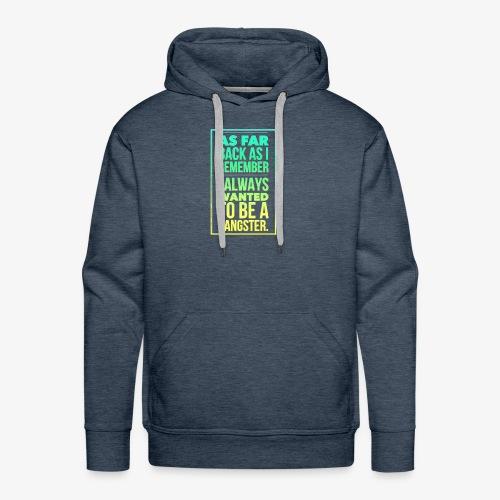 Boys in the hoodie. - Men's Premium Hoodie