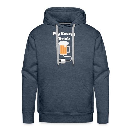 Beer My Energy Drink - Men's Premium Hoodie