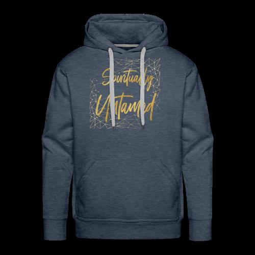 Spiritually Untamed Gold 1 - Men's Premium Hoodie