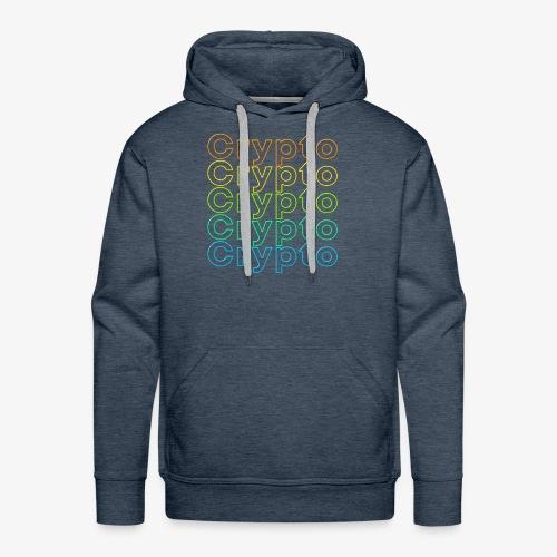 Crypto Neon Design - Men's Premium Hoodie