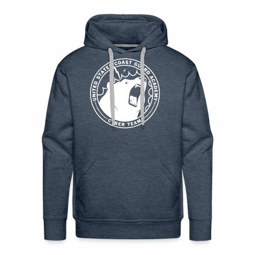 White Cybear Logo - Men's Premium Hoodie