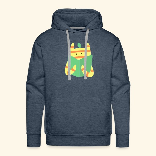 book monster - Men's Premium Hoodie