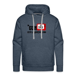 GunTube Shirt with URL - Men's Premium Hoodie
