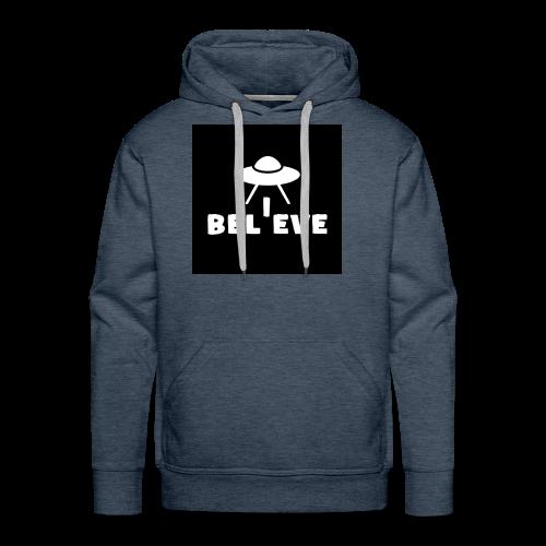 I believe - Men's Premium Hoodie