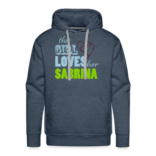 THIS GIRL LOVE HER SABRINA Special - Men's Premium Hoodie