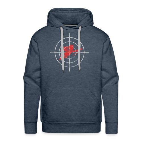 Target Cupid Arrow Target me Valentine's Day gift - Men's Premium Hoodie