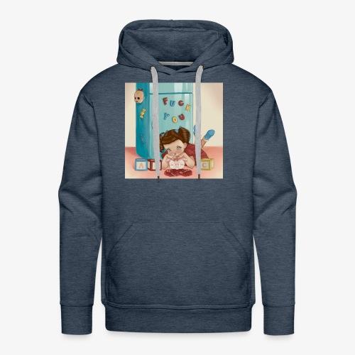 Alphabet Boy - Men's Premium Hoodie