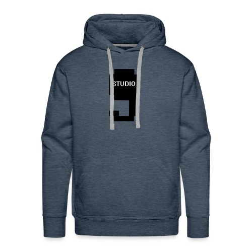 Offical Studio9 Logo Clothes - Men's Premium Hoodie