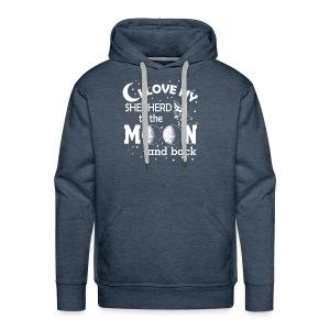 I love my Shepherd - Men's Premium Hoodie