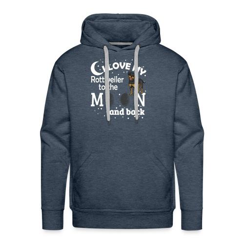 I Love My Rottweiler - Men's Premium Hoodie