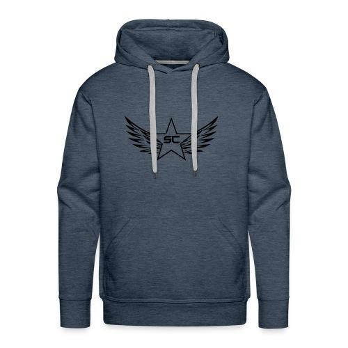 Starr logo black - Men's Premium Hoodie