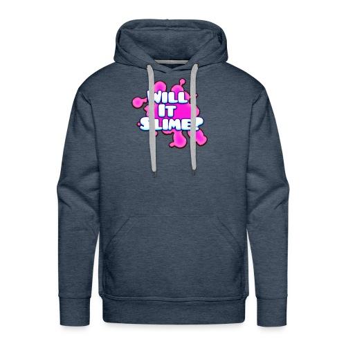 Pink Will It Slime Logo - Men's Premium Hoodie