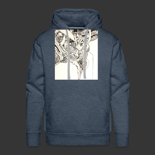 Evolving Thought - Men's Premium Hoodie