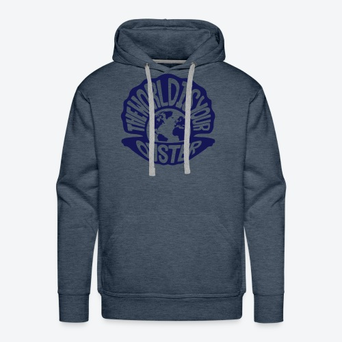 The World Is Your Oyster - Dark - Men's Premium Hoodie