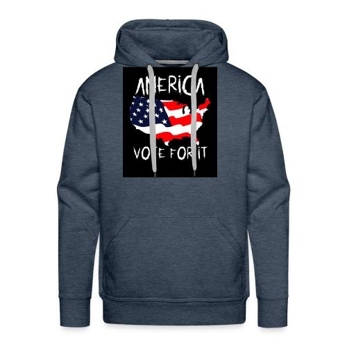 AMERICA VOTE IT - Men's Premium Hoodie