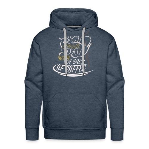 Coffee Addict - Men's Premium Hoodie
