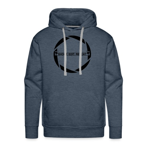 Shoot edit repeat - Men's Premium Hoodie