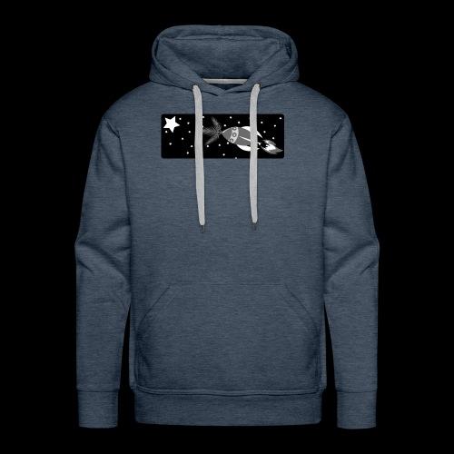 Deep Space John Logo - Men's Premium Hoodie