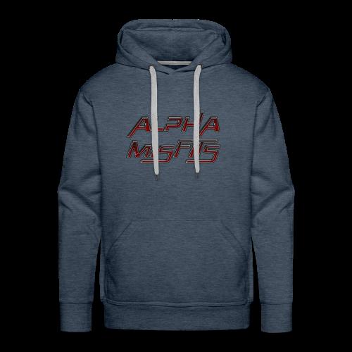 Alphamisfits Name Logo - Men's Premium Hoodie