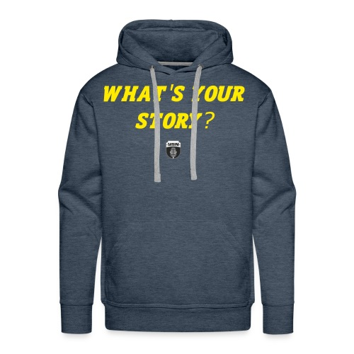 What's Your Story? - Men's Premium Hoodie