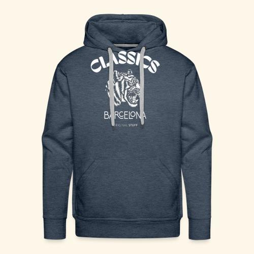 tiger classic barcelona original stuff - Men's Premium Hoodie
