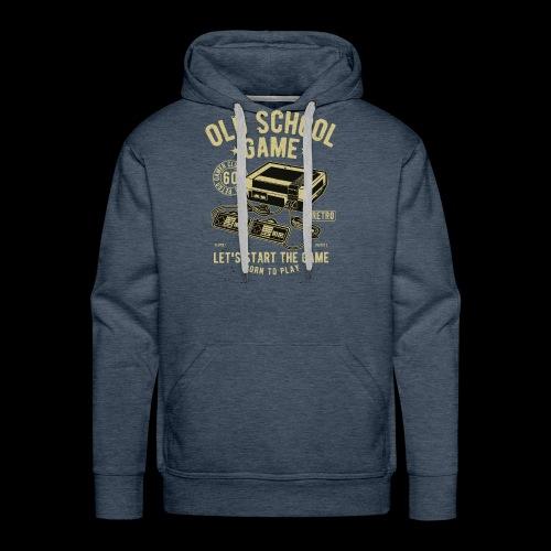Old School Gamer - Men's Premium Hoodie
