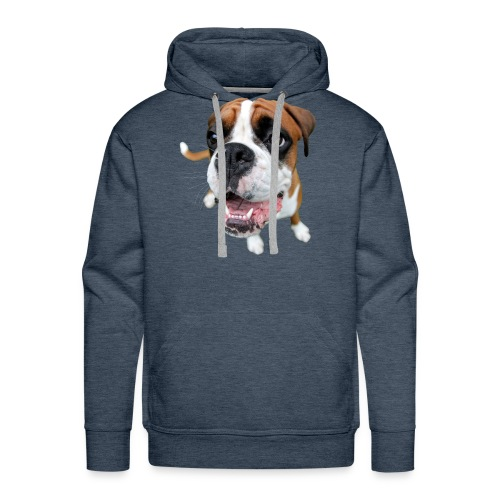 Boxer Rex the dog - Men's Premium Hoodie