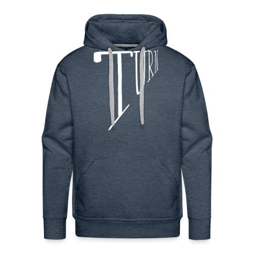 turn clothing co perspective white - Men's Premium Hoodie