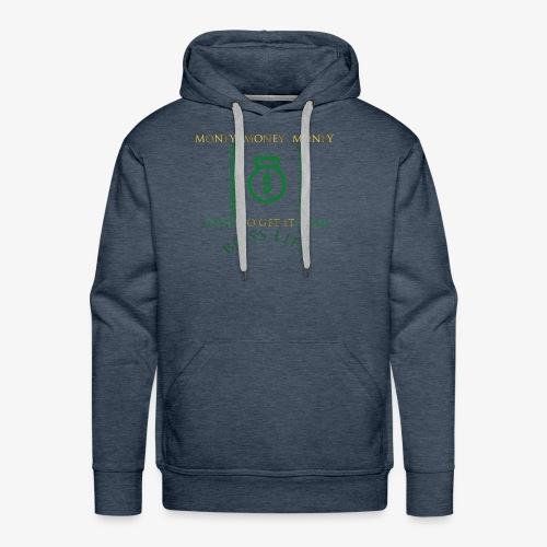 Money Bags Tshirt 1 - Men's Premium Hoodie