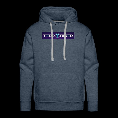 terroriser purple logo twitch 2 - Men's Premium Hoodie