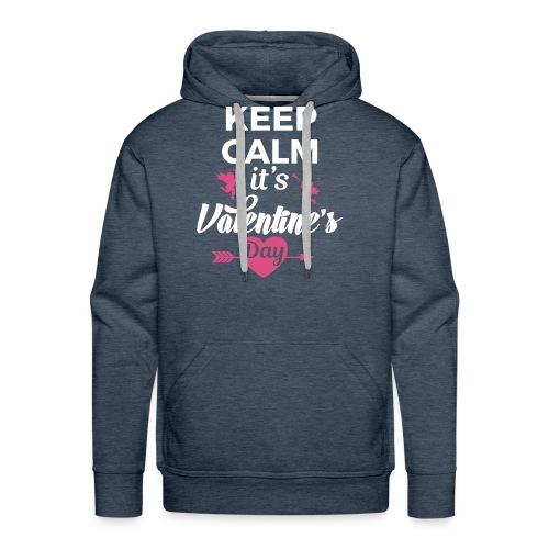 valentine 2017 - Men's Premium Hoodie