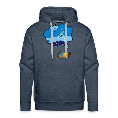 Strainge - Blue Dream Marijuana Strain shirt - Men's Premium Hoodie
