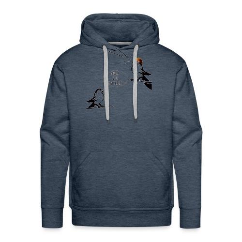 Donald Trump Tweeting T Shirt - Men's Premium Hoodie