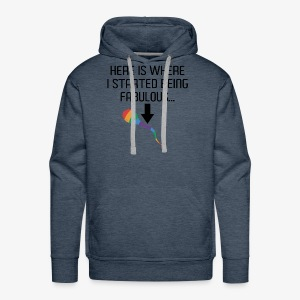Gay Rights Funny Shirt - Men's Premium Hoodie