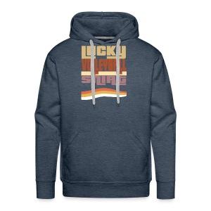Lucky valleyball tshirt - Men's Premium Hoodie