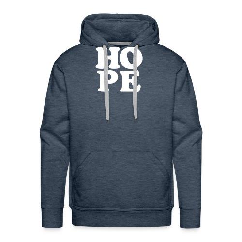 Hope Inspirational Vintage Style Shirt - Men's Premium Hoodie