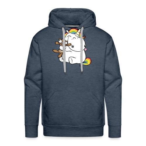 Happy Unicorn - Men's Premium Hoodie