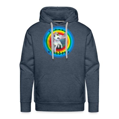 I Poop Rainbows - Men's Premium Hoodie