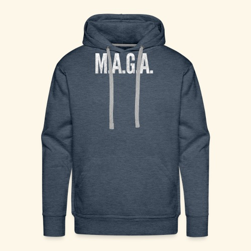 ★ Maga ★ America-First T-Shirt | Trump 2020 | USA - Men's Premium Hoodie