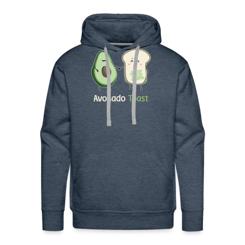2Avocado Toast T-Shirt - Men's Premium Hoodie