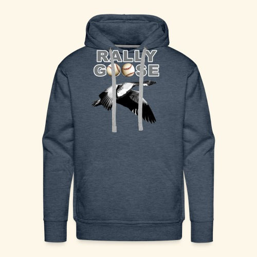 Detroit Rally Goose Baseball Lucky Charm Design - Men's Premium Hoodie