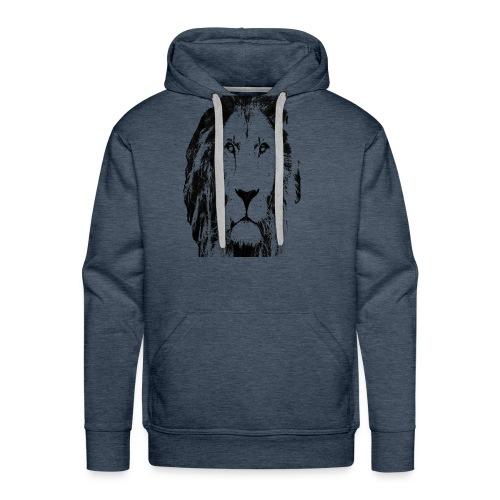 Lion FACE - Men's Premium Hoodie