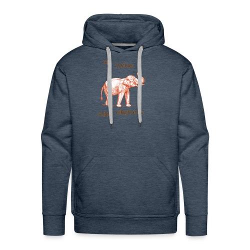 My Father Rides Elephants - Men's Premium Hoodie