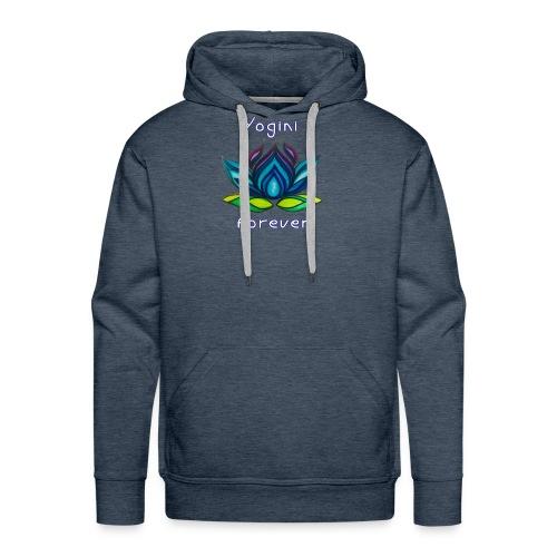 BLY Yoga Studio Logo - Men's Premium Hoodie