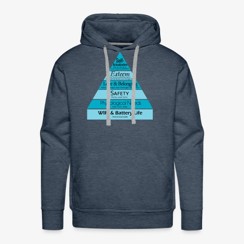 Maslow's Hierarchy - Men's Premium Hoodie