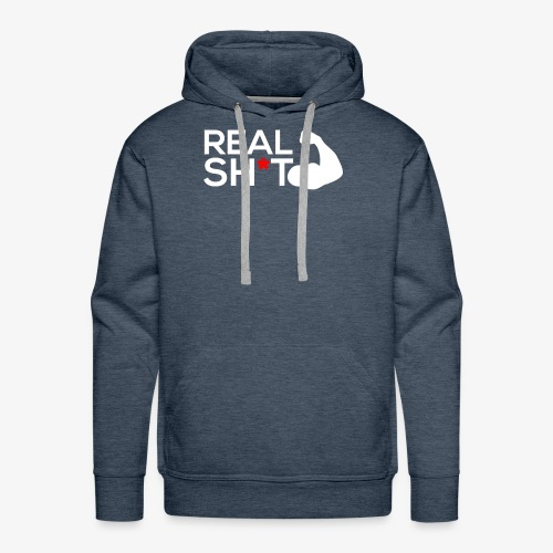 Real Gain Muscle Sh-t Gym workout T-Shirt - Men's Premium Hoodie