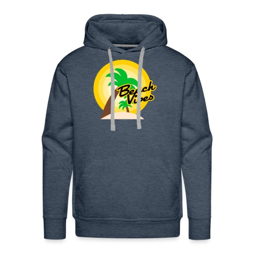 Beach vibes t-shirt summer - Men's Premium Hoodie