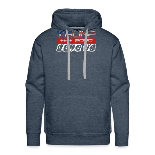 NEW t-shirt Trump 2K20 - SAVE US - Men's Premium Hoodie