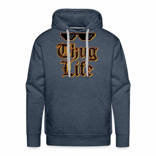 Thug life t-shirt - Men's Premium Hoodie