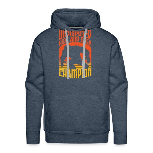 Bigfoot Funny Hide and Seek champion - Men's Premium Hoodie